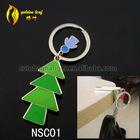 newest foldable nail-scissor design hold 9 kg keychain zip lock bag holder NSC01