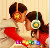 2012 new arrival new 5color flower fashionable children' Winter Earmuffs