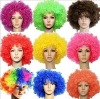 Wholesale Wild Curl-up Funny Soccer Fans Wig Cosplay Party Fancy Dress Fake Hair