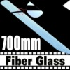 700mm fiber glass main blade for rc helicopter
