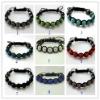 Xmas Gift Cheap promotion Micro Pave stone shamballa bracelet