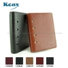 A8 Mini Genuine Leather Organizer Notebook