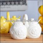 creative ceramic spice jar set
