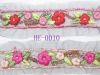 hand embroidery ribbon trim