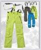 Men's Winter Ski Pants with Detachable Elastic Suspender