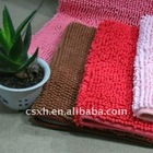 polyester chenille fabric for carpet