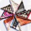 Pure silk scarf for 2012 SS