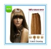 100% top quality Human hair Mongolian remy hair weaving