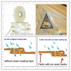 waterproof seam sealing tape for jacket fabric (PU and PVC coating fabrics)