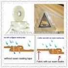 waterproof seam sealing tape for jacket fabric (PU and PVC coating fabrics)