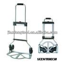 70KG Super Folding Platform Hand Truck, aluminum cart, 2 wheels trolley