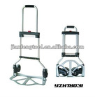 70KG Super Folding Platform Hand Truck, aluminum cart, 2 wheels trolley