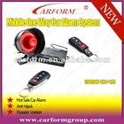 one way car alarm engine start