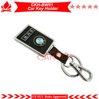 HOT BW car key ring,car key holder ,top quality metal holder,PU leather and alloy material,OEM support,free shipping