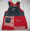 100% cotton kids dress
