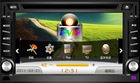 Built-in GPS, BLUETOOTH double din car DVD