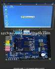 "OK6410 Arm11 Development Board Embeded Processor Board 2GB Nand Flash + 7"" TFT LCD"
