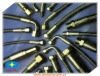 OE Quality Manufacturer direct Sae100r6 Hydraulic Rubber Hose