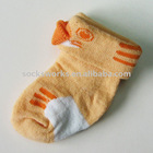 Custom Made 3D Cartoon Cotton Baby Sock/ Infant Sock