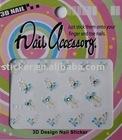 3D Nail Sticker WF-13