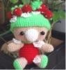 Crocheted Toy, Handmade Doll ( 15257)