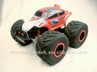 2012 hot sale ABS material 1:8 big wheel car rc car