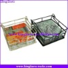 KingKara KANH046 White Wire Tissue Holder for Counter