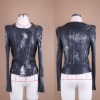 lady casual jeans with shoulder mark