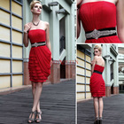 DORIQUEEN Hotsale China Wholesale Strapless Sexy Bandage Dresses New Fashion
