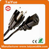High Quality 3 Pin American Style Power Cable