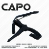 BLACK GUITAR CAPO CLAMP FOR ACOUSTIC & ELECTRIC GUITAR