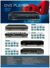 Cheap DVD Player with LED display and TV aspect selection