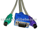 PS/2 3-in-1 KVM Switch Cable