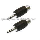 3.5mm(2.5mm) plug to rca jack