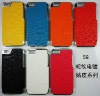chome leather hard case for iphone5