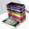 New Arrive for iphone5 Aluminum case Metal Bumper Case for iPhone 5 CLEAVE CASE IPHONE 5