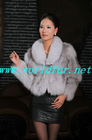 L-1108 Ladies' Fox Fur coat/jacket