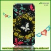 hot selling butterfly design cell phone case for iphone 4 4s