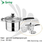 Stainless steel noodle pot