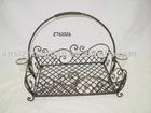 iron square hanging basket