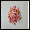seven color glitter poms ,tinsel poms ,chenille poms