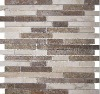 nature stone mosaic art wall tile