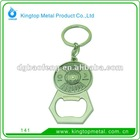 keychain zinc alloy metal bottle opener