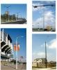 Fiberglass (FRP/GRP) lighting pole, flag pole,