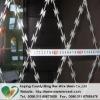 HDP galvanized Razor Barbed wire. pvc coated razor barbed wire, concertina wire,