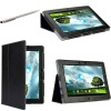 Porfolio stand case for Asus TF700, Slim Cover Case for Asus eee Transformer Pad Infinity TF700 / TF700T, Black