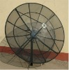 c band aluminium mesh dish satellite antenna