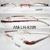 Rimless frame metal presbyopia reading glasses
