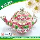 Teapot gift jewelry box