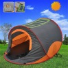 MINKI solar air conditioned tent with fan and light
